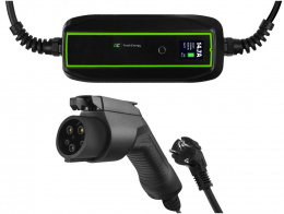 GC EV PowerCable 3.6kW Schuko - Type 1 mobile charger for charging electric cars and Plug-In hybrids