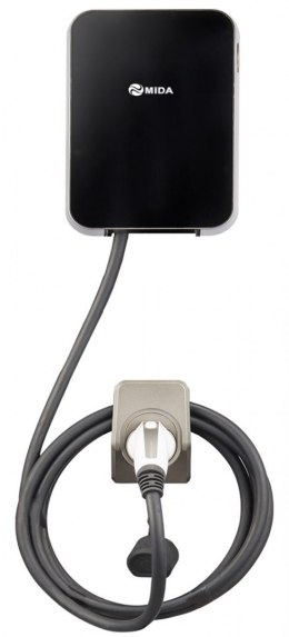7KW 32A Single Phase EV Charger Station with Type 2 5m EV Cable