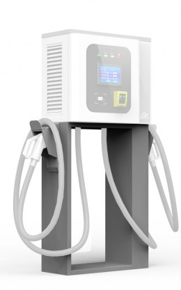 G-series Pedestal stand (G40 compatibile) for 40KW Wall mounted EV Charger with CCS-2 and CHAdeMO dual connectors